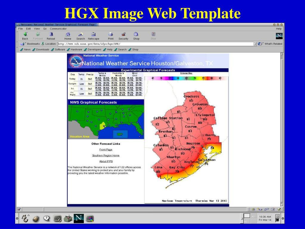 HGX Image Web Template