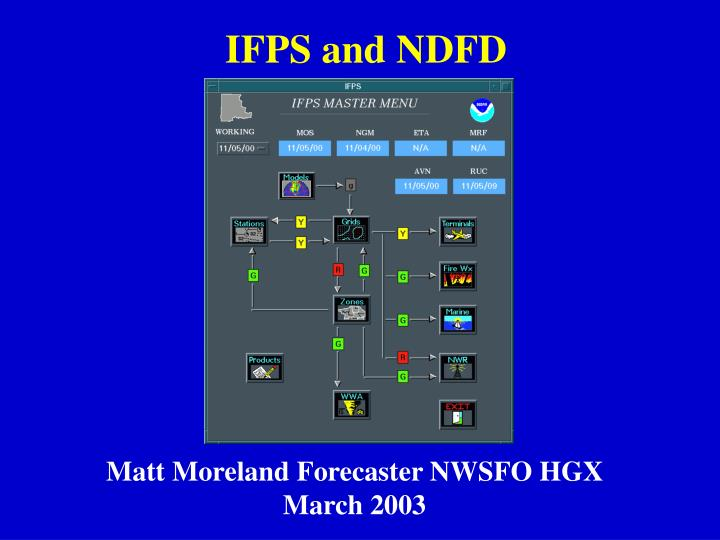 Ifps and ndfd