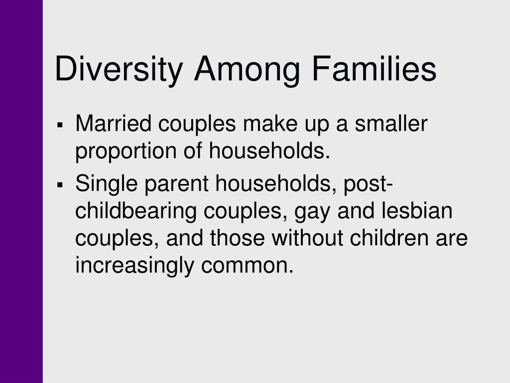 Diversity Among Families