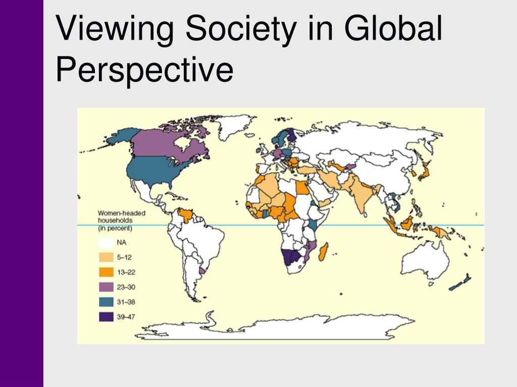 Viewing Society in Global Perspective
