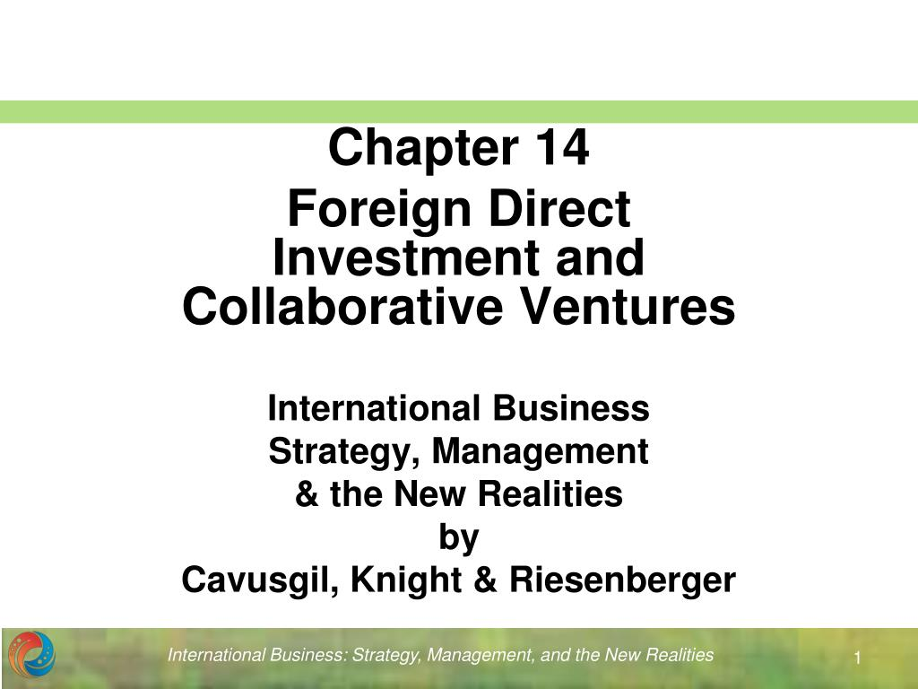international business strategy management the new realities by cavusgil knight riesenberger l.