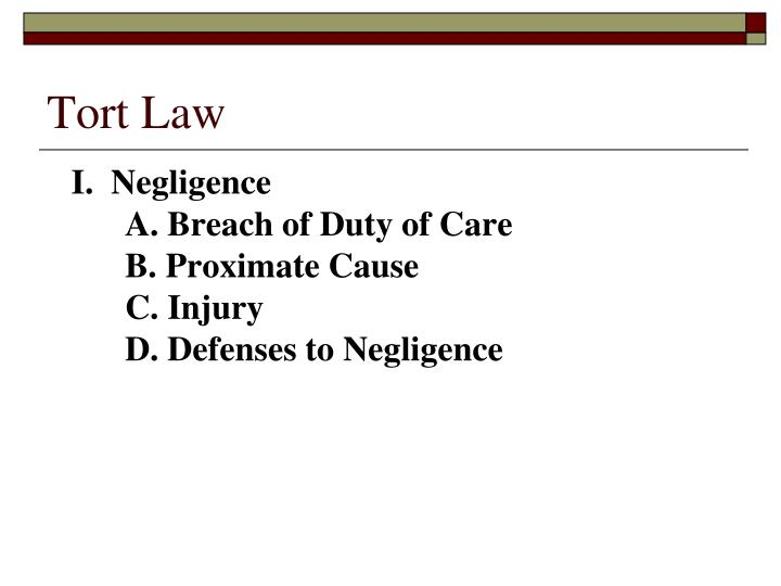 tort of negligence duty of care essay Duty of care duty of care is the first element of negligence and therefore, in order to discuss further on duty of care, one would have to first define the tort of negligence.