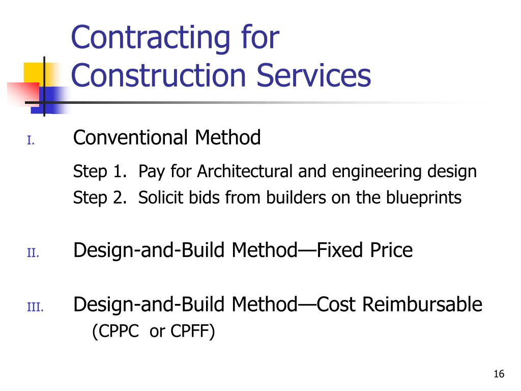 Contracting for