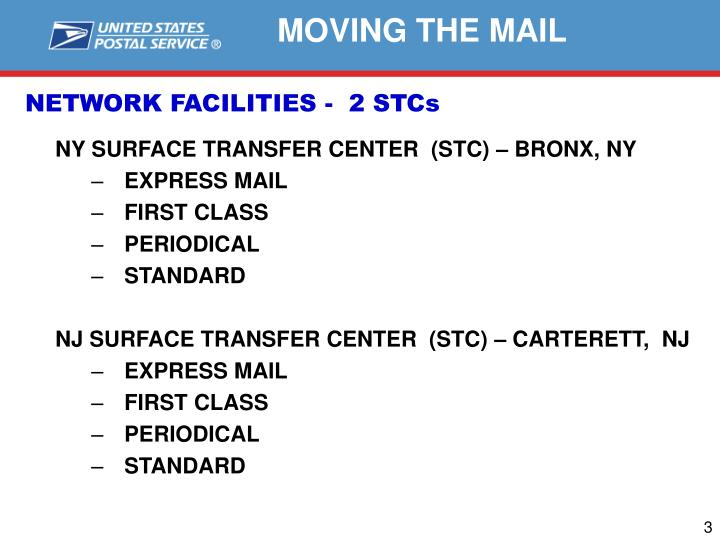 Network facilities 2 stcs
