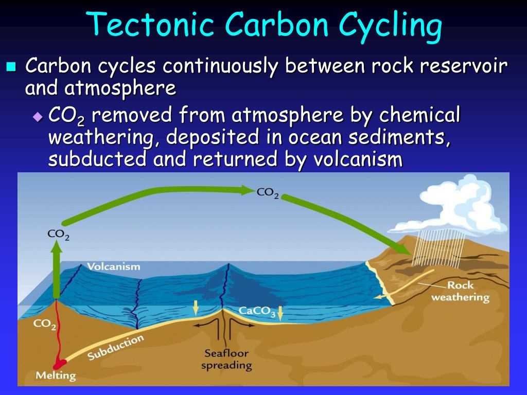Tectonic Carbon Cycling