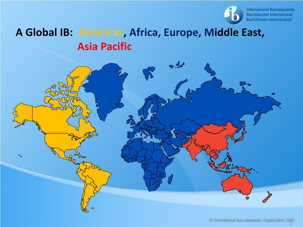 A Global IB: