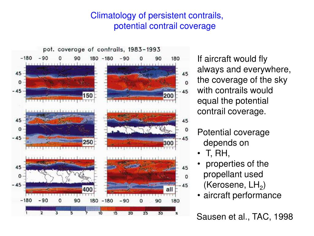 Climatology of persistent contrails,