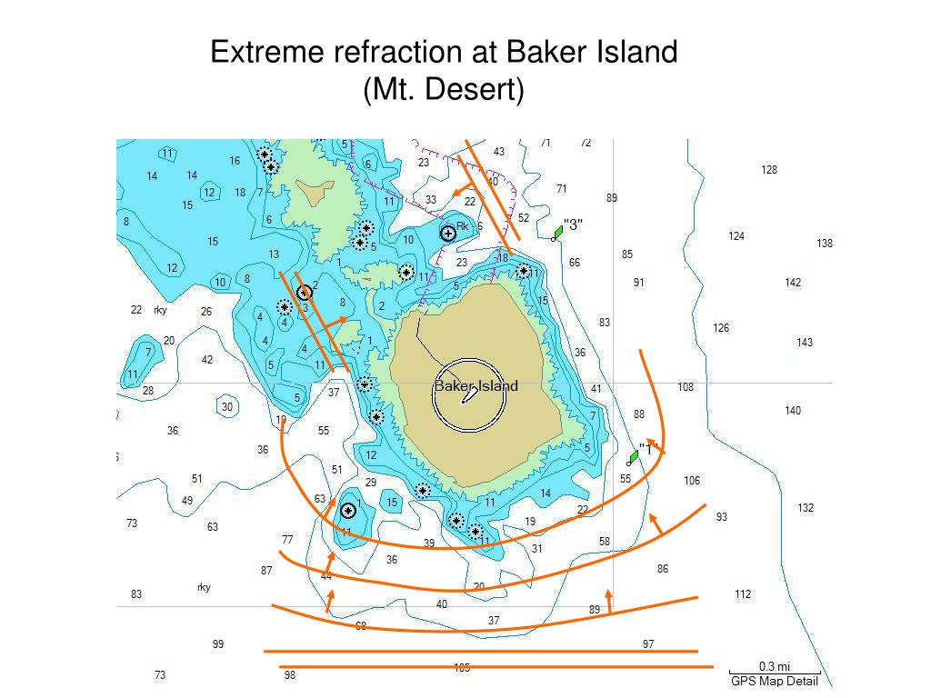 Extreme refraction at Baker Island