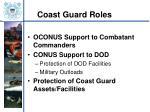 coast guard roles