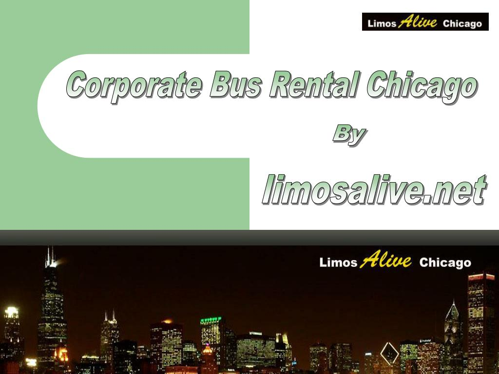 Corporate Bus Rental Chicago