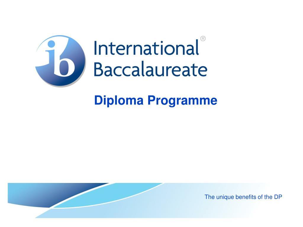 diploma programme l.