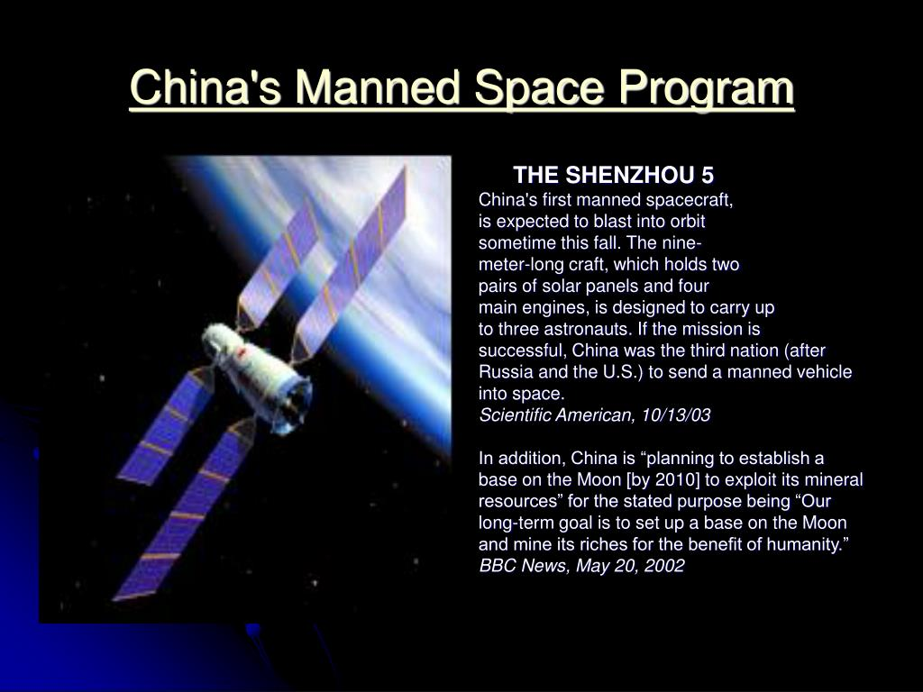 China's Manned Space Program