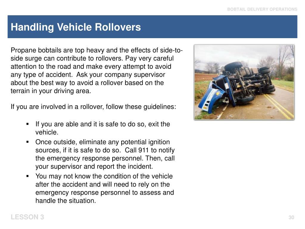 Handling Vehicle Rollovers