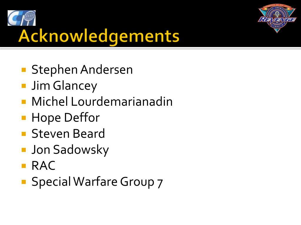 Stephen Andersen