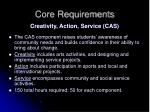 core requirements15