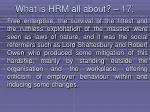 what is hrm all about 17147