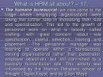 what is hrm all about 17149