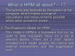 what is hrm all about 17154