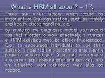 what is hrm all about 17157