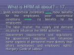 what is hrm all about 17166