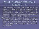 what is management all about 15