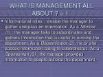 what is management all about 18
