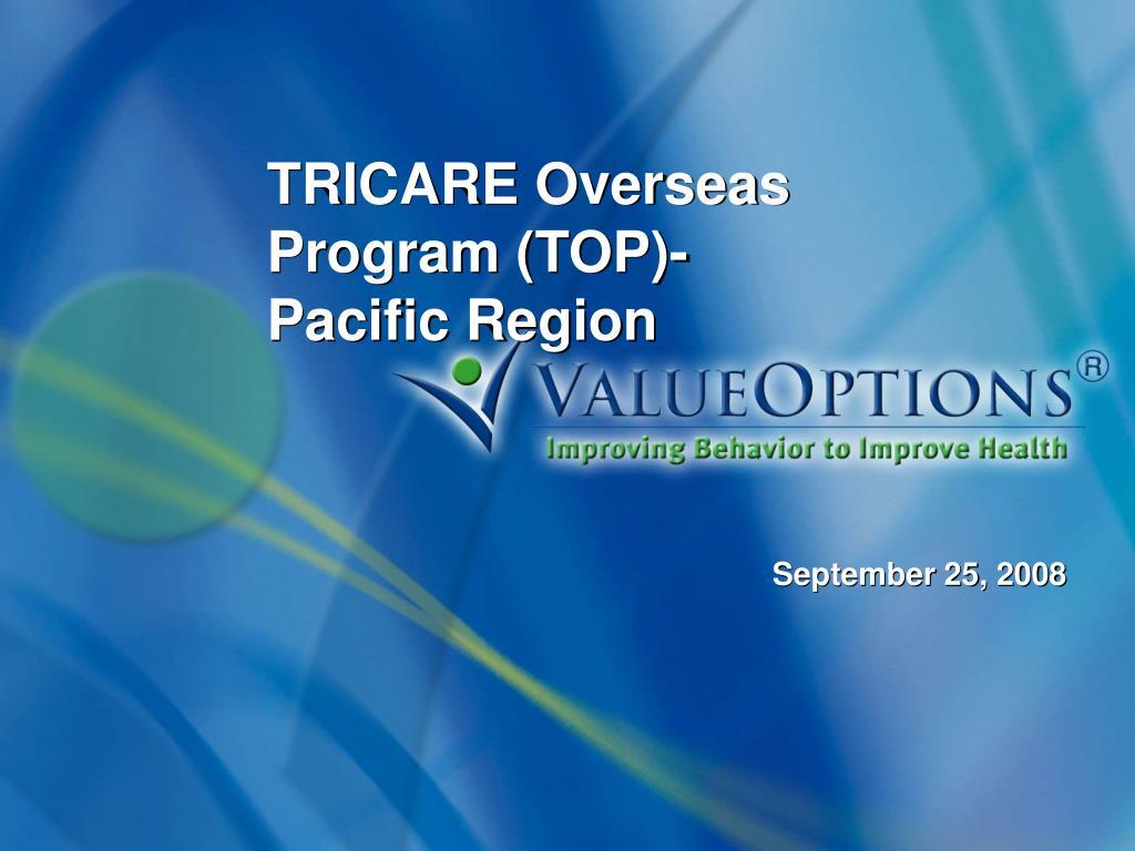 tricare overseas program top pacific region l.