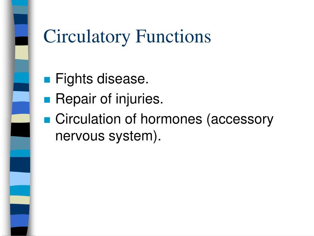 Circulatory Functions