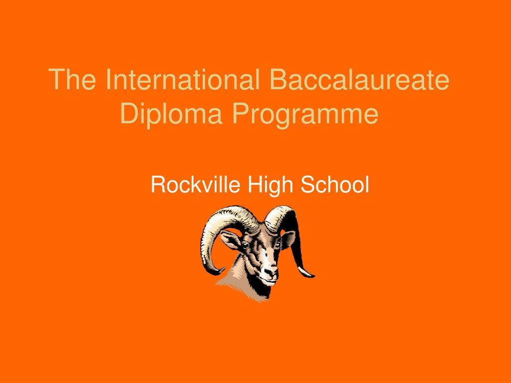 the international baccalaureate diploma programme l.
