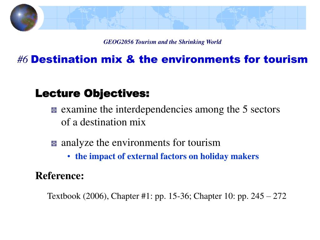 GEOG2056 Tourism and the Shrinking World