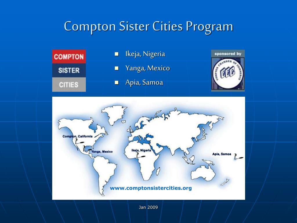 compton sister cities program l.