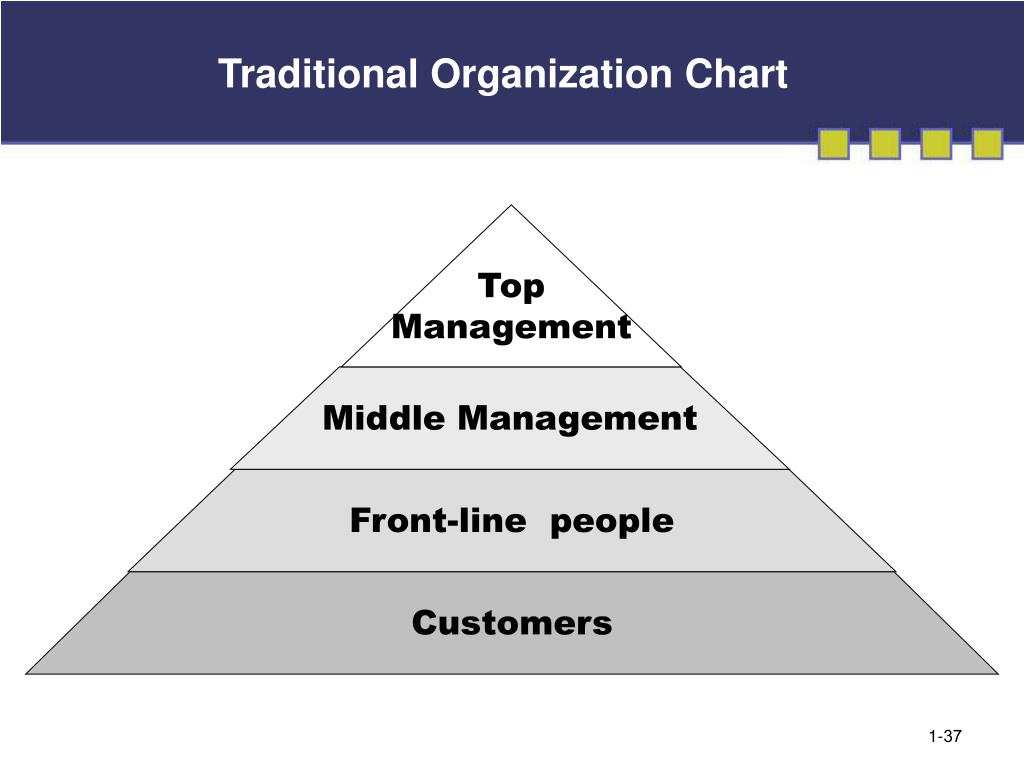 Traditional Organization Chart