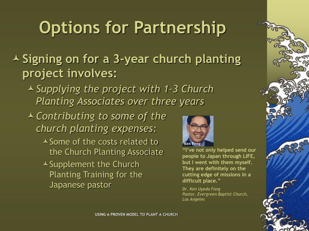 Options for Partnership