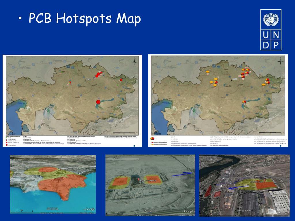 PCB Hotspots Map