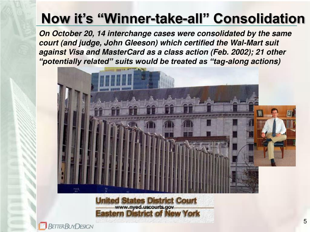 """Now it's """"Winner-take-all"""" Consolidation"""