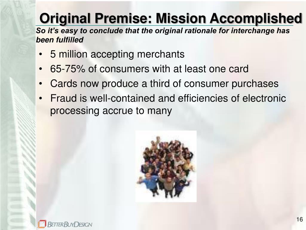 Original Premise: Mission Accomplished