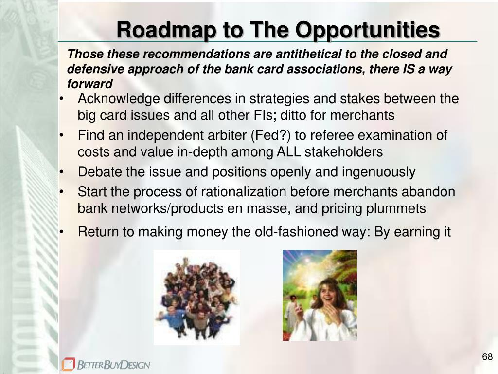 Roadmap to The Opportunities