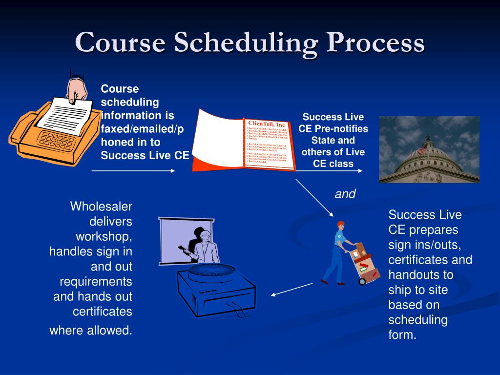 Course Scheduling Process