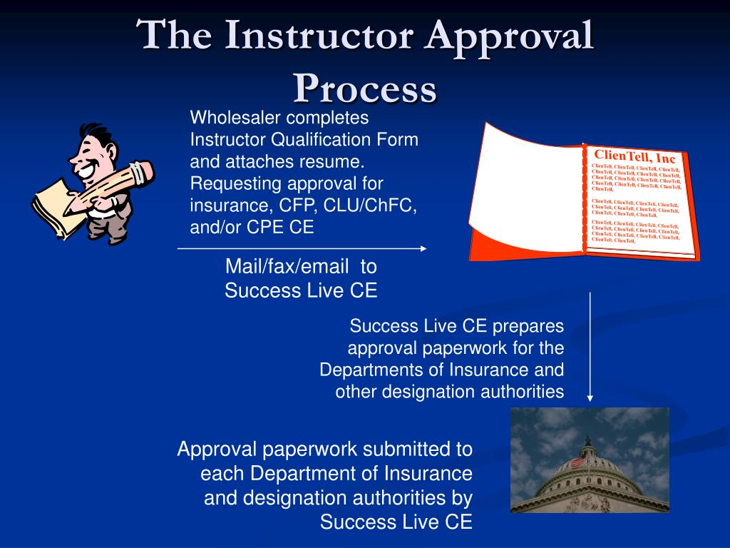 The Instructor Approval Process