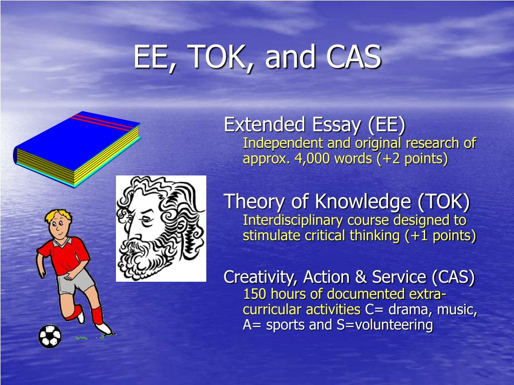 EE, TOK, and CAS