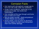 corrosion facts