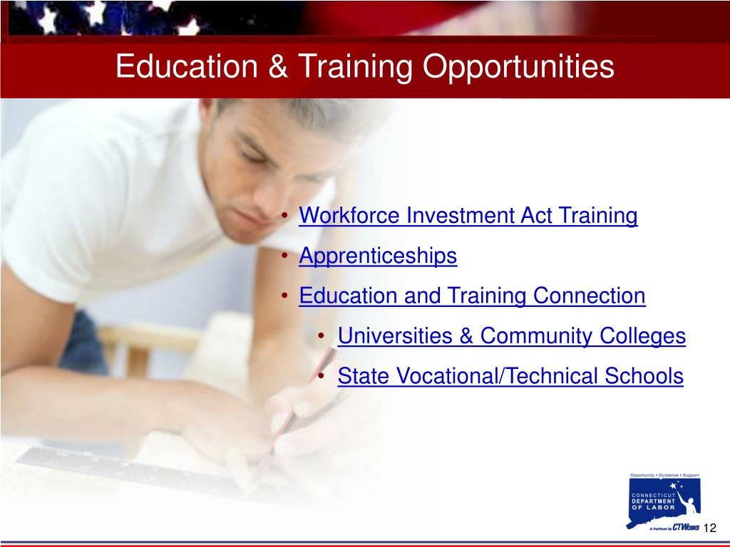 Education & Training Opportunities