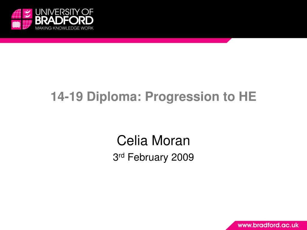14 19 diploma progression to he l.