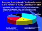 process undertaken in the development of the pinellas county destination vision5