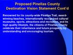 proposed pinellas county destination vision statement cont d10