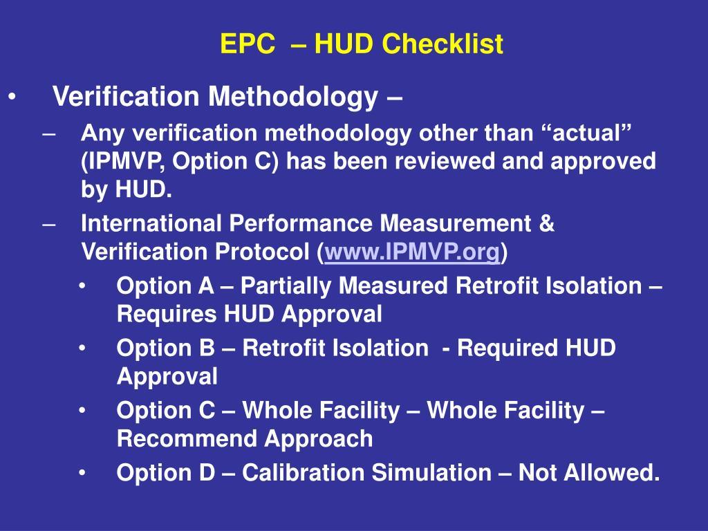 Verification Methodology –