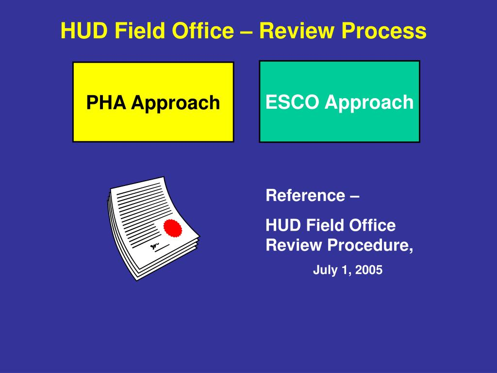 HUD Field Office – Review Process