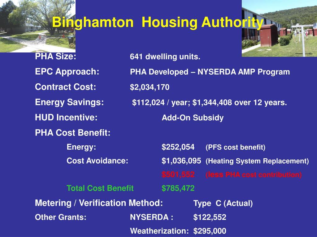 Binghamton  Housing Authority