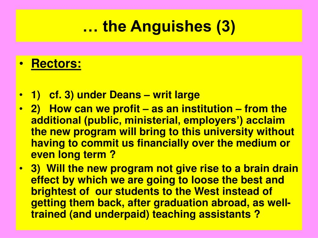 … the Anguishes (3)