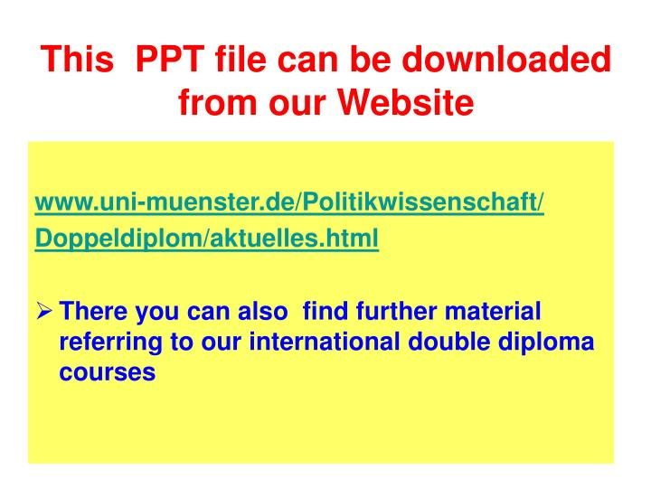 This ppt file can be downloaded from our website